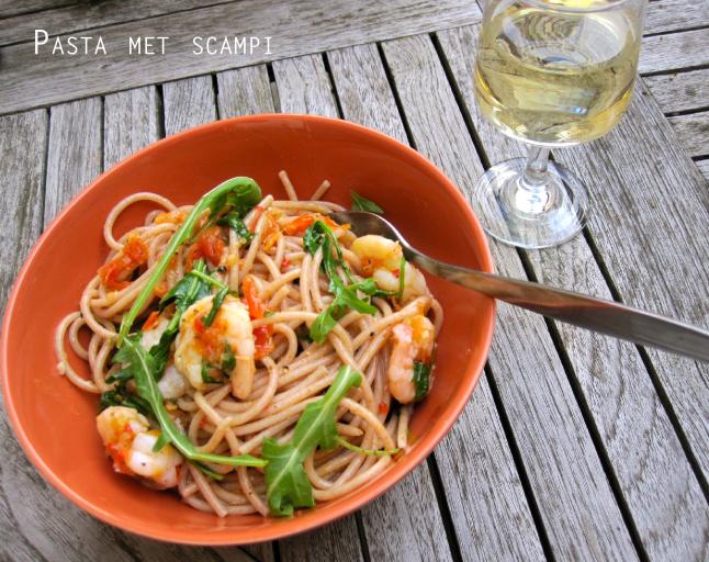 like this prawn pasta recipe on the blog