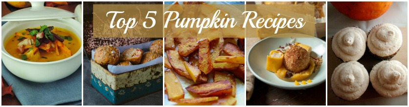 Top 5 Pumpkin Recipes from Bloggers