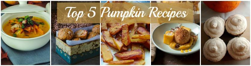 Top 5 Pumpkin Recipes from Bloggers